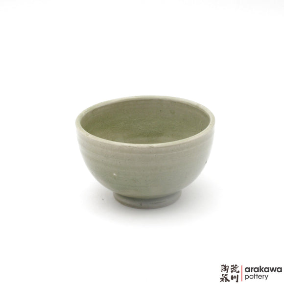 Handmade Ceramic Dinnerware: Rice Bowl , Celadon Glaze - 1224 - 108 made by Thomas Arakawa and Kathy Lee-Arakawa at Arakawa Pottery