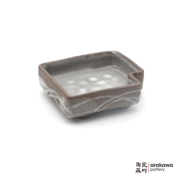 Handmade Ceramic Dinnerware: Appetizer Bowl, Clear Swish Glaze - 1224 - 112 made by Thomas Arakawa and Kathy Lee-Arakawa at Arakawa Pottery