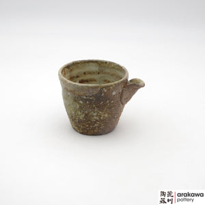 Handmade Ceramic Dinnerware: Sake Pitcher, Wood Fire glaze - 1224 - 135 made by Thomas Arakawa and Kathy Lee-Arakawa at Arakawa Pottery