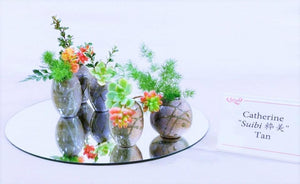 Mini Vase - Red + White - 0320-0003