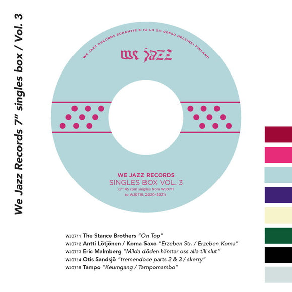 Various Artists - We Jazz Records 7