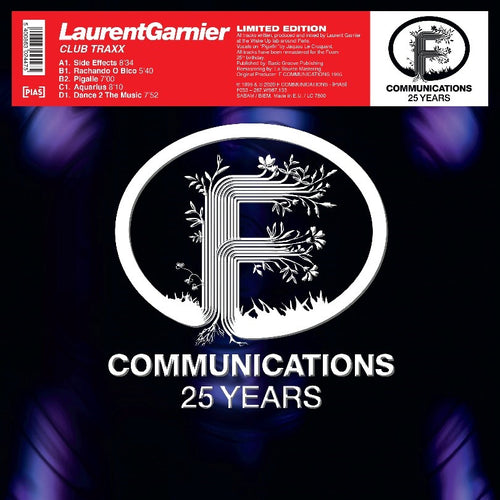 Laurent Garnier - CLUB TRAXX
