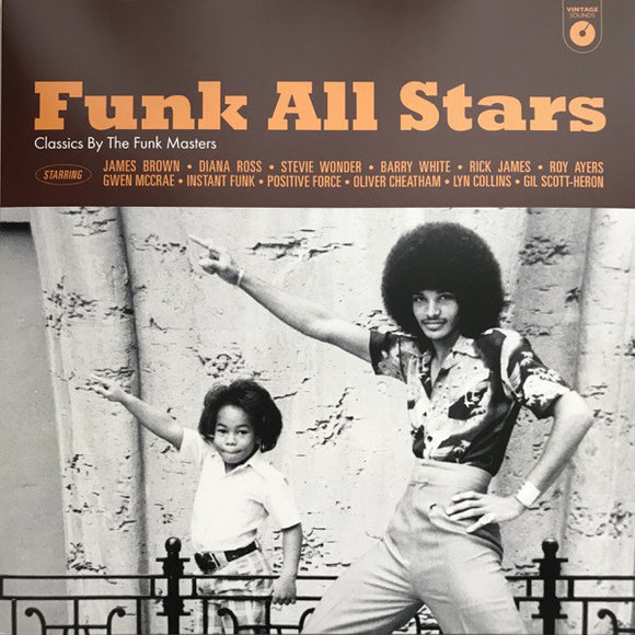 VARIOUS ARTISTS - FUNK ALL STARS