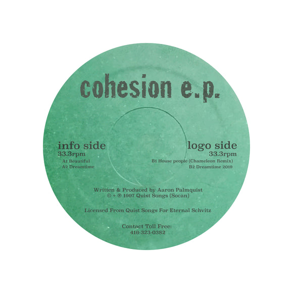 Aaron Palmquist - Cohesion EP (ONE PER PERSON)