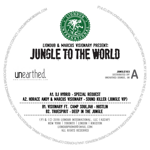 Various Artists - Liondub & Marcus Visionary Present: Jungle To The World 3