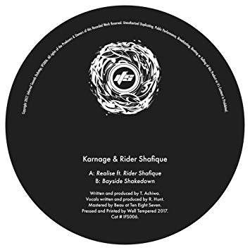 KARNAGE/RIDER SHAFIQUE - Realise