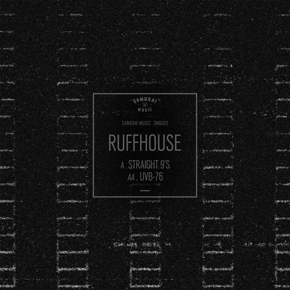 Ruffhouse - Straight 9's / UVB-76 [White / Clear Marbled 12