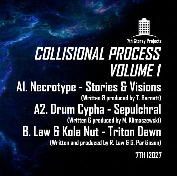 NECROTYPE/DRUM CYPHA/LAW/KOLA NUT - Collisional Process Volume 1