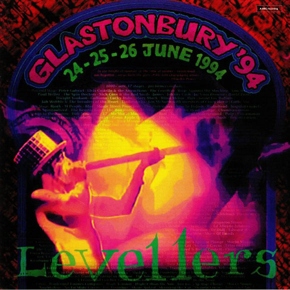 LEVELLERS - GLASTONBURY '94ac [Coloured Vinyl 3LP]