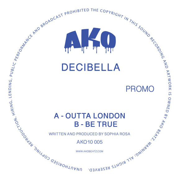 AKO10 Series Presents: Decibella [Limited 10