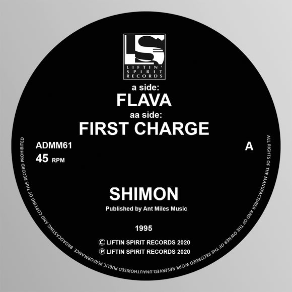 Shimon - Flava b/w First Charge (1995)