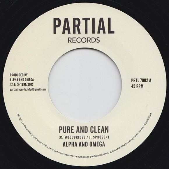 Alpha and Omega - Pure and Clean