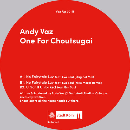 Andy Vaz	- One for Choutsugai