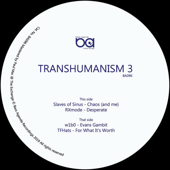 SLAVES OF SINUS/RXMODE/W1B0/TFHATS - Transhumanism 3