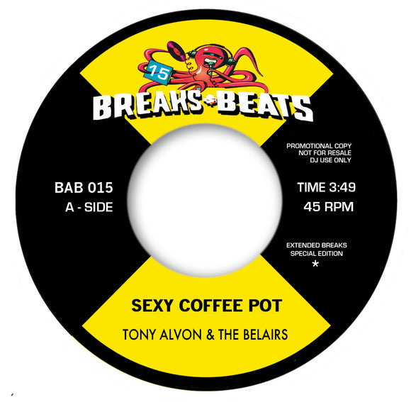 TONY ALVON & THE BELAIRS / STANLEY TURRENTINE - SEXY COFFEE POT