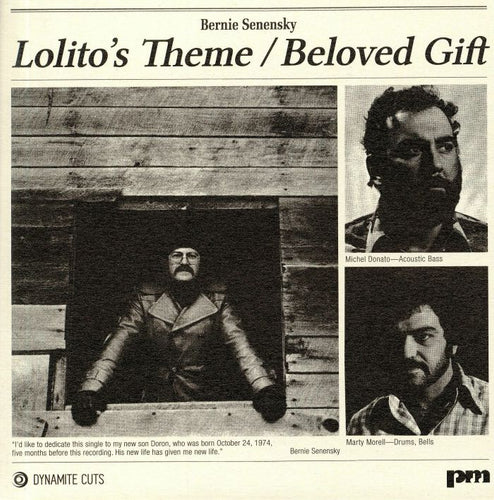 BERNIE SENENSKY - Lolito's Theme / Beloved gift