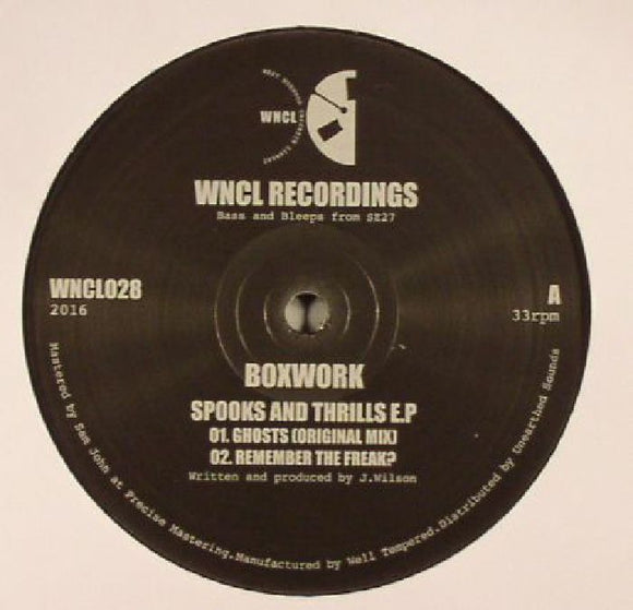 Boxwork - Spooks and Thrills EP
