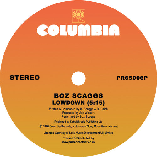 Boz Scaggs - Lowdown / JoJo / What Can I Say [Repress]