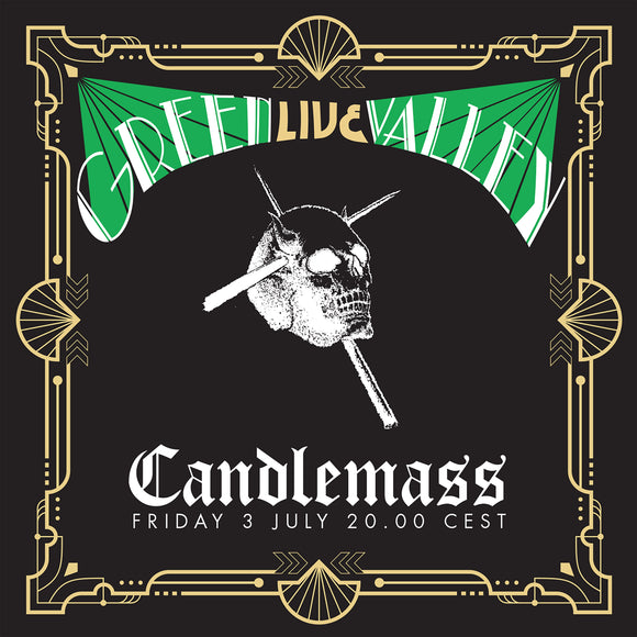 Candlemass - Green Valley 'Live' ( CD & DVD Jewel Case )