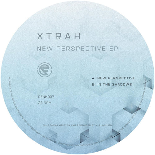 Xtrah - New Perspective EP [A/B Side / Clear Vinyl]