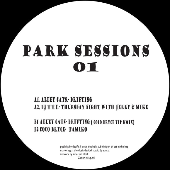 Alley Cats / DJ T.T.C / Coco Bryce - Park Sessions 01
