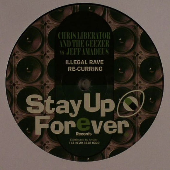 Chris LIBERATOR / THE GEEZER vs JEFF AMADEUS - Illegal Rave Re-curring