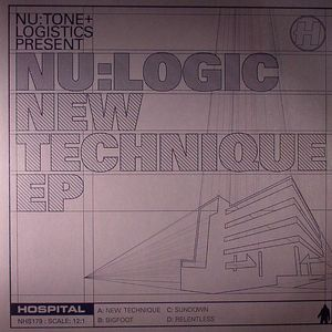 NU LOGIC - New Technique EP (Hospital vinyl)
