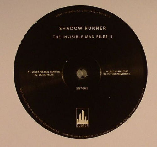 SHADOW RUNNER - The Invisible Man Files II