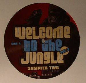 ED SOLO/DEEKLINE/JACKIE MURDA - Welcome To The Jungle Vol 2: Sampler Two (Jungle cakes vinyl)