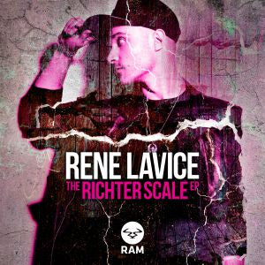 Rene LAVICE - The Richter Scale EP (Ram vinyl)