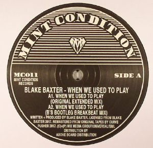 Blake BAXTER - When We Used To Play (reissue)