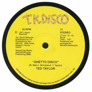 Ted TAYLOR - Ghetto Disco (reissue)