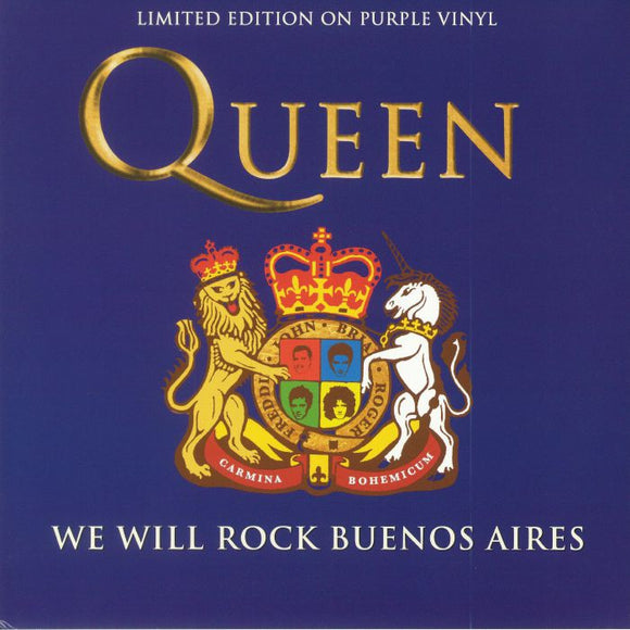 QUEEN - We Will Rock Buenos Aires (ONE PER PERSON)