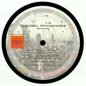 MR FINGERS - Cerebral Hemispheres Remixes  (Alleviated Vinyl)