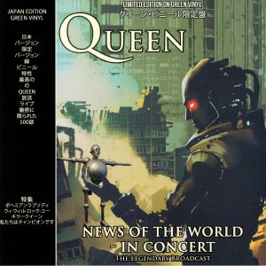 QUEEN - News Of The World In Concert: The Legendary Broadcast (Japan Edition)