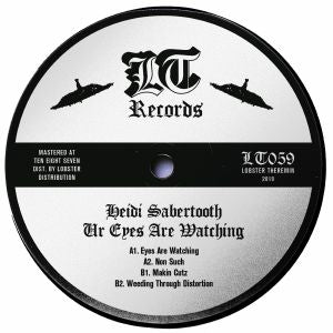 Heidi SABERTOOTH - Ur Eyes Are Watching (Lobster Theremin Vinyl)