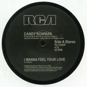 Candy BOWMAN - I Wanna Feel Your Love (reissue) (Record Store Day 2019)