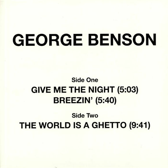 George BENSON - Give Me The Night (reissue)