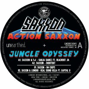 SAXXON - Action Saxxon: Jungle Odyssey