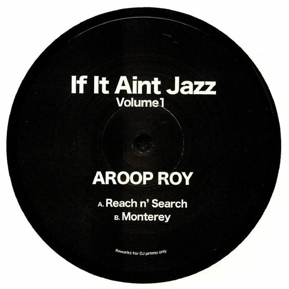 Aroop ROY - If It Ain't Jazz: Volume 1
