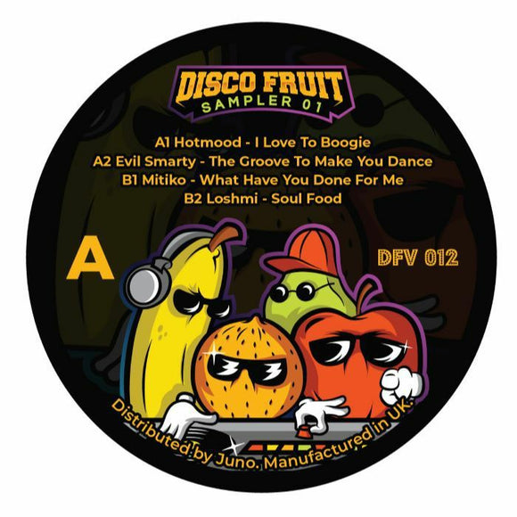 Hotmood / Evil Smarty / Mitiko / Loshmi - Disco Fruit Sampler 01