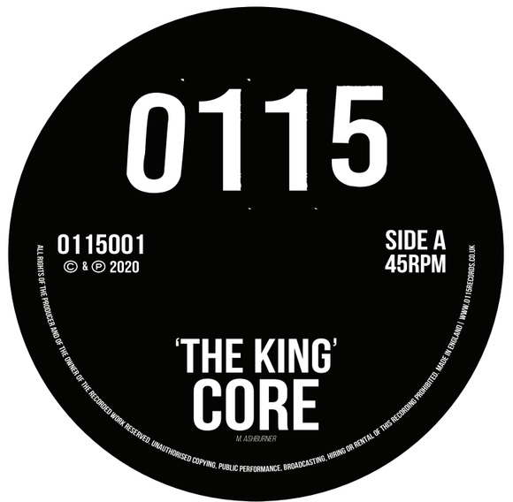 Core - The King (Incl Gantz Remix)