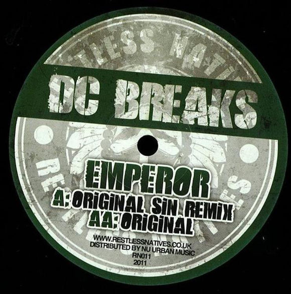 DC Breaks - Emperor - Original Sin Remix & Original
