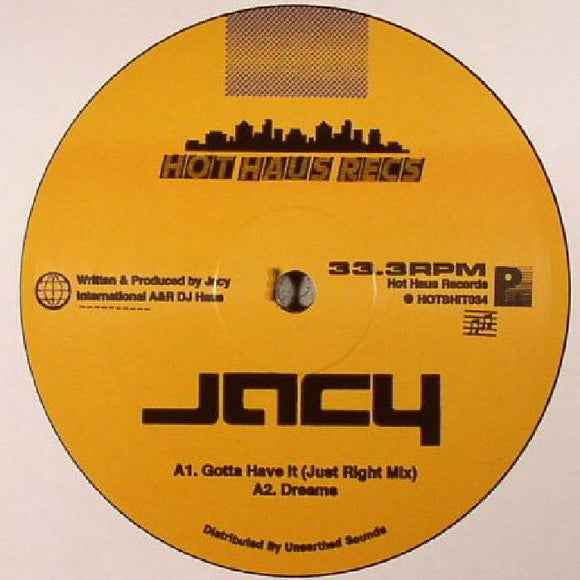 DJ Jacy - Dreams EP