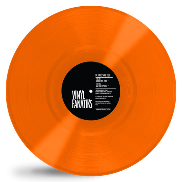 DJ Junk/Mad Dog - Do It-Do It/Hypnotise - ORANGE VINYL