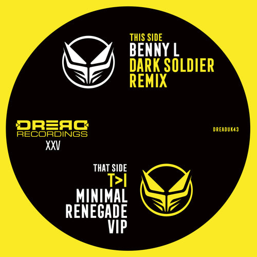 Ray Keith- 'Renegade (T>I Minimal VIP) / Dark Soldier (Benny L Remix)'