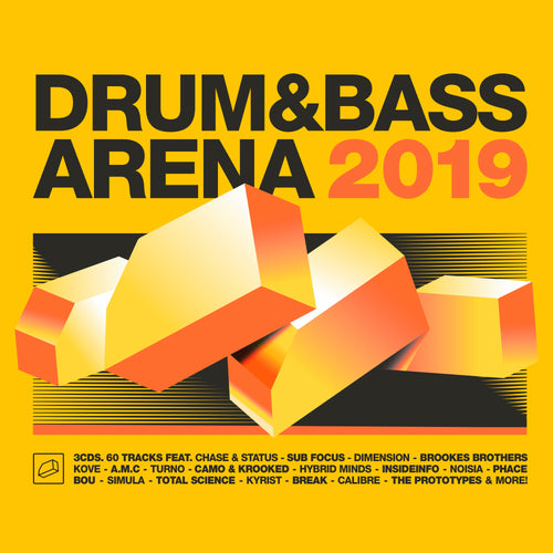 VARIOUS ARTISTS - DRUM&BASS ARENA 2019 (CD)