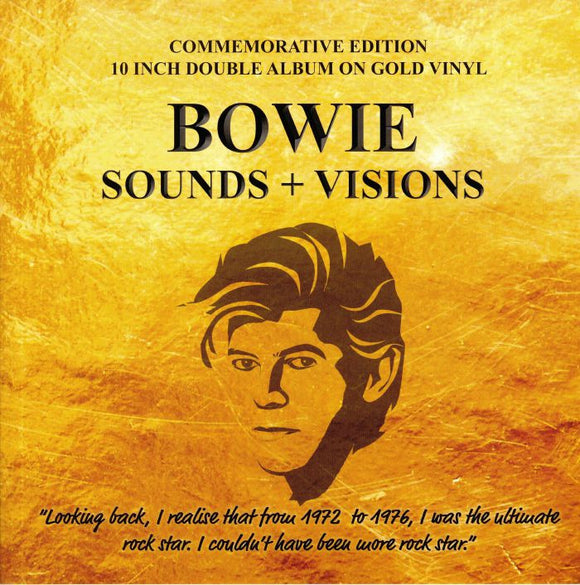 David BOWIE - Sounds & Visions [Gold Vinyl]
