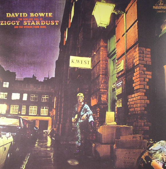 David BOWIE - The Rise & Fall Of Ziggy Stardust & The Spiders From Mars (remastered)