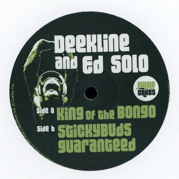 Deekline / Ed Solo - King Of the Bongo [Repress]